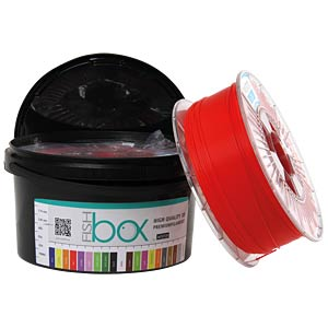 AV-PLA175-RE - PLA Filament - 1,75 mm - rot - 1 kg