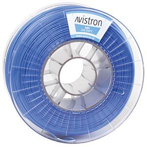 ABS Filament - 1,75 mm - blau - 1 kg AVISTRON AV-ABS175-BLU