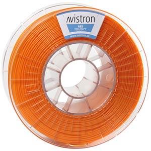ABS Filament - 1,75 mm - orange - 1 kg AVISTRON AV-ABS175-OR