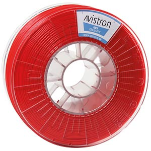 ABS Filament - 1,75 mm - red - 1 kg AVISTRON AV-ABS175-RE