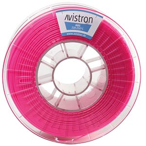ABS Filament - 1,75 mm - pink - 1 kg AVISTRON AV-ABS175-PI