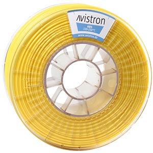 ABS Filament - 2,85 mm - gelb - 1 kg AVISTRON AV-ABS285-YE