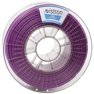 ABS Filament - 2,85 mm - purple - 1 kg AVISTRON AV-ABS285-PU