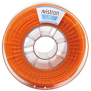 PLA Filament - 2,85 mm - orange - 1 kg AVISTRON AV-PLA285-OR