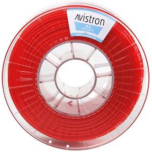 PLA Filament - 2,85 mm - red - 1 kg AVISTRON AV-PLA285-RE
