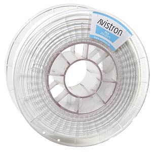 PLA Filament - 2,85 mm - weiß - 1 kg AVISTRON AV-PLA285-WH