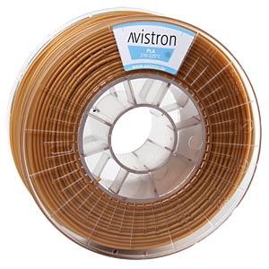 PLA Filament - 2,85 mm - gold - 1 kg AVISTRON AV-PLA285-GO