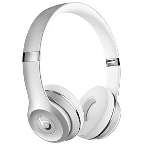 Kopfhörer, On-Ear, Beats Solo3 Wireless, silber BEATS ELECTRONICS MNEQ2ZM/A