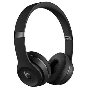 Kopfhörer, On-Ear, Solo3 Wireless, schwarz BEATS ELECTRONICS MP582ZM/A