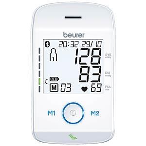 Blutdruckmessgerät, Bluetooth, Oberarm BEURER 658.09