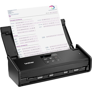 Scanner, Dokumente, WLAN, 16 S/min BROTHER ADS1100WUN1