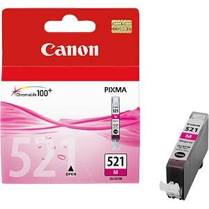 Tinte - Canon - magenta - CLI-521 - original CANON 2935B001