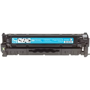 Toner for HP CP2025N, CM2320FXI…, cyan HEWLETT PACKARD CC531A