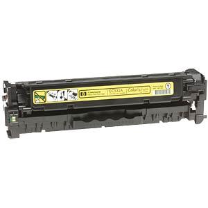 Toner - HP - gelb - 304A - original HEWLETT PACKARD CC532A
