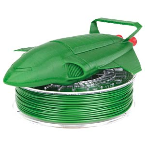 PLA/PHA Filament - leaf green - 2,85 mm - 750 g COLORFABB