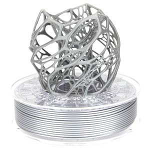 PLA/PHA Filament - shining silver - 1,75 mm - 750 g COLORFABB