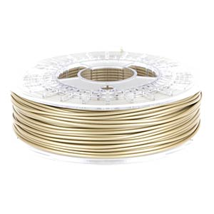 PLA/PHA Filament - pale gold - 1,75 mm - 750 g COLORFABB