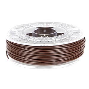 PLA/PHA Filament - chocolate brown - 2,85 mm - 750 g COLORFABB