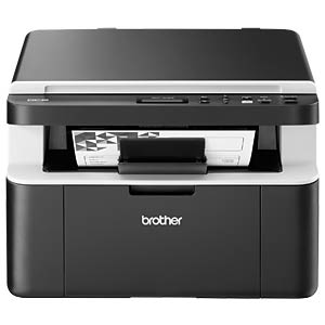 Laserdrucker, Multifunktion, mono, WLAN, 20 S/min, inkl. UHG BROTHER DCP1612WG1