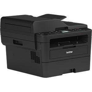Laserdrucker, Multifunktion, mono, LAN, 34 S/min, inkl. UHG BROTHER DCPL2550DNG1