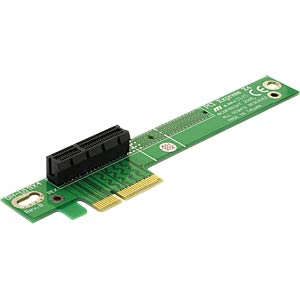 PCIe riser card x4, 90° angled DELOCK 89103