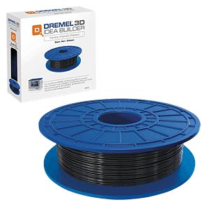 PLA Filament - black - 1,75 mm - 0,5 kg DREMEL 2.615.3D0.2JA