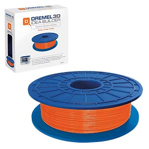 PLA Filament - orange - 1,75 mm - 0,5 kg DREMEL 2.615.3D0.4JA