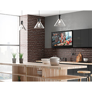 Fernseher, 61cm/23,8, FULLHD, DVB-T2/C/S2, Küche, EEK A DYON D800150