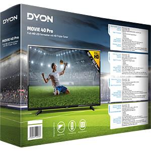 Fernseher, 102cm/40, Full HD, DVB-T2/C/S2, EEK A+ DYON D800142