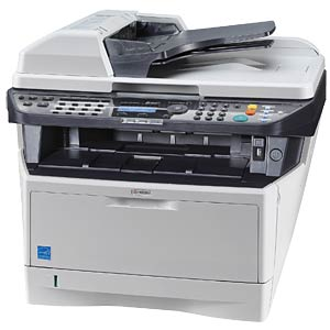 Three-in-one multifunction laser printer with LAN, duplex KYOCERA 1102PK3NL1
