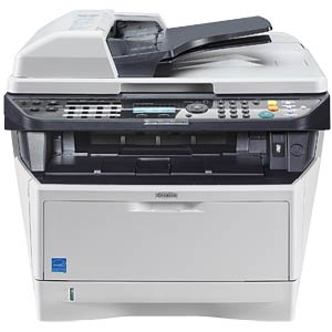 Three-in-one multifunction laser printer with LAN, duplex KYOCERA 1102PM3NL0