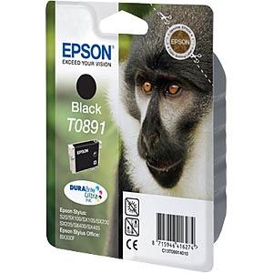 Tinte - Epson - schwarz - T0891 - original EPSON C13T08914011