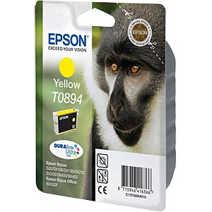 Tinte - Epson - gelb - T0894 - original EPSON C13T08944011