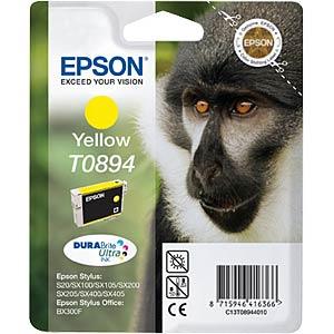 Yellow: Epson Stylus S20/SX100/SX200... EPSON C13T08944011