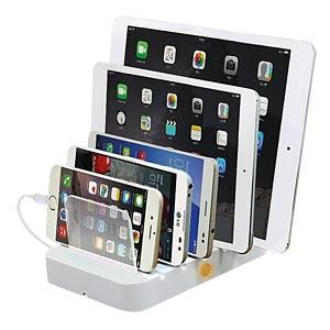 Tablet-Zubehör, Ladestation, bis zu 5 Tablets EXSYS EX-1100