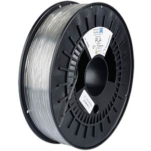 PLA Filament - transparent - 1,75 mm GERMAN REPRAP 100302