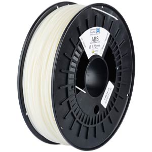 ABS Filament - natural - 1,75 mm GERMAN REPRAP 100305