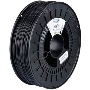 ABS Filament - black - 1,75 mm GERMAN REPRAP 100477