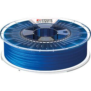 HDglass Filament - durchsichtig blau - 2,85 mm - 750 g FORMFUTURA 285HDGLA-STBLU-0750