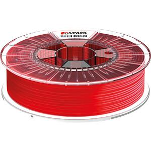 HDglass Filament - durchsichtig rot - 2,85 mm - 750 g FORMFUTURA 285HDGLA-STRED-0750