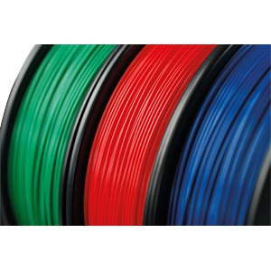 PLA filament — black — 1.75 mm — 750 g H. HIENDL GMBH 160001.9017