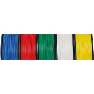 PLA filament — yellow — 2,85 mm — 750 g H. HIENDL GMBH 160011.1016