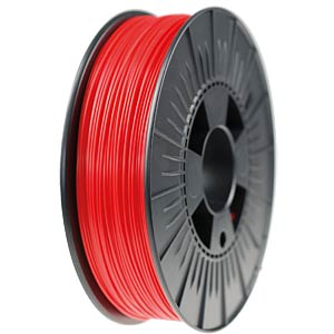 PLA filament — red — 3 mm — 750 g H. HIENDL GMBH 160011.3020