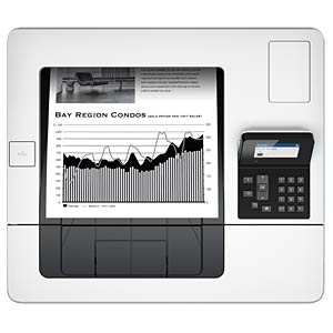 Monochrom Laserdrucker, LAN, 43 S/min, Duplex HEWLETT PACKARD F2A69A