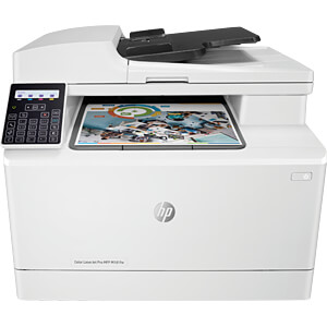 Laserdrucker, Multifunktion, Color, WLAN, LAN, USB, inkl. UHG HEWLETT PACKARD T6B71A