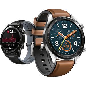 Smartwatch, HUAWEI Watch GT, braun HUAWEI 55023253