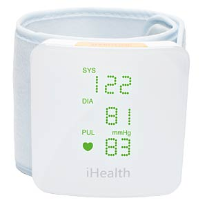 Wireless Wrist Monitor IHEALTH BP7S