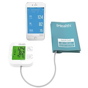 Blutdruckmessgerät, Bluetooth, Oberarm IHEALTH KN-550BT