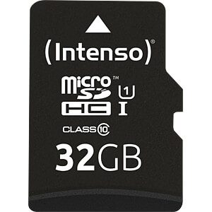Micro Sd Karte 32gb.Intenso 3423480 Micro Sdhc Card 32gb Intenso Class 10
