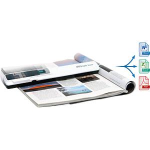 Mobiler Buch-Scanner, 30 S/min, weiß IRIS 457888